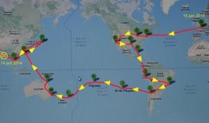 Itinéraire complet